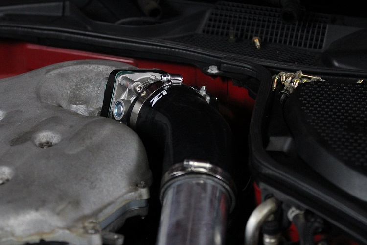 air intake attached to throttle body min