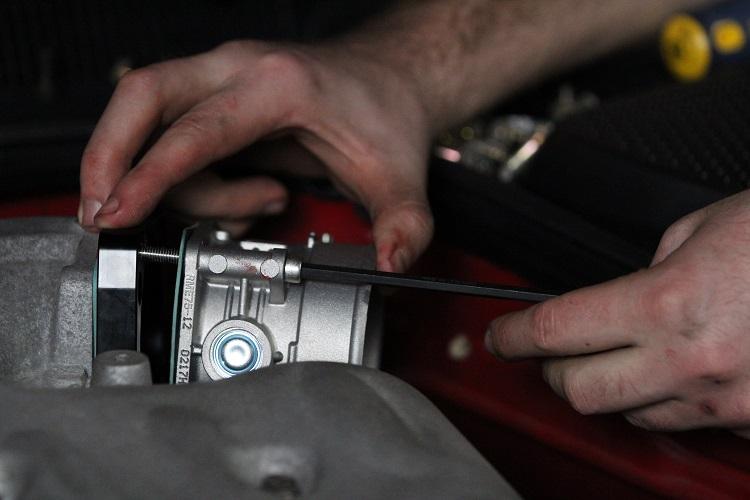 installing new throttle body 2 min
