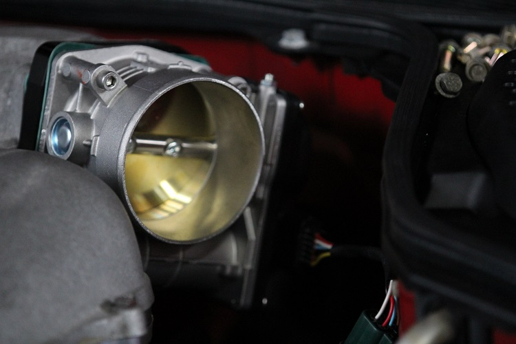 new throttle body attached min