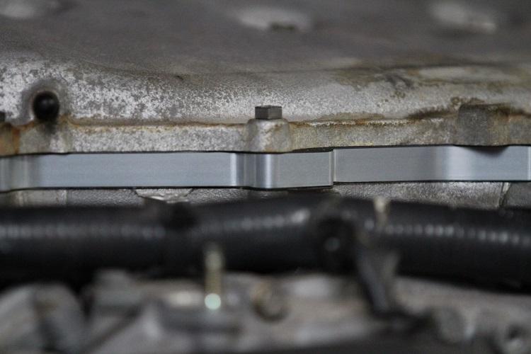 plenum spacer installed close min