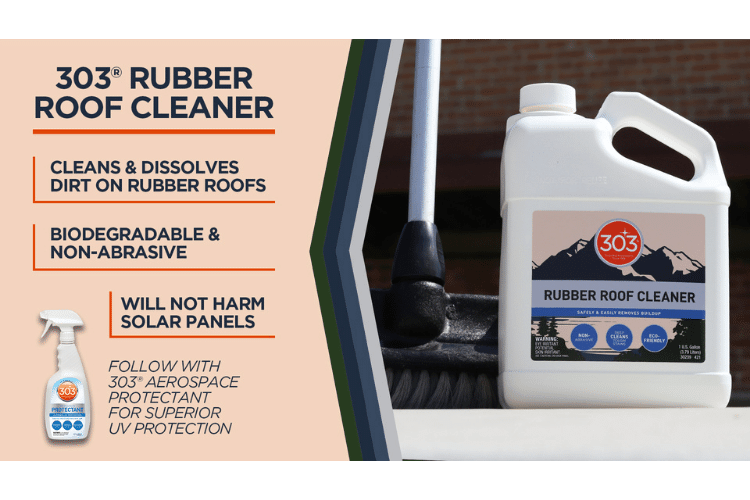 30239 303 rubber roof cleaner infographic min