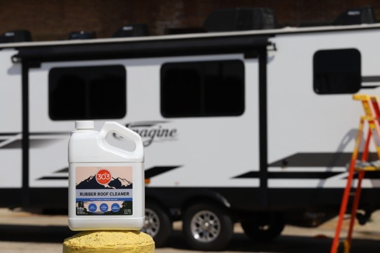 30239 303 rubber roof cleaner lifestyle rv in background min