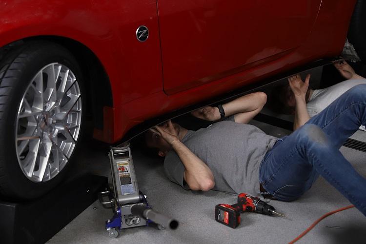 installing side splitter low min