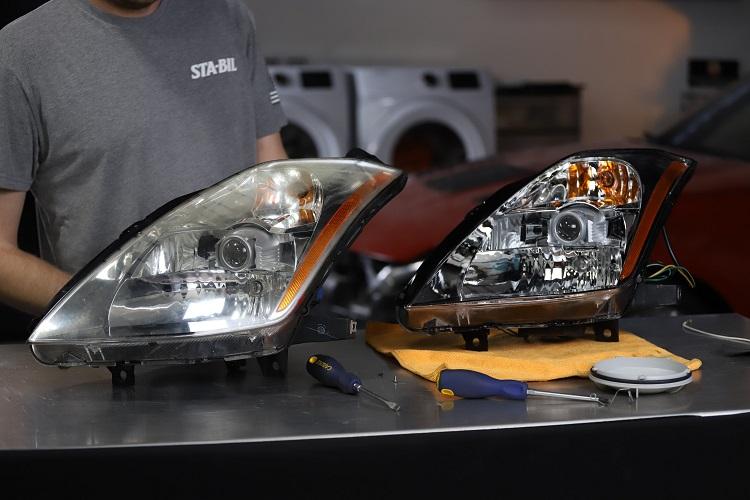 old new headlight comparison min