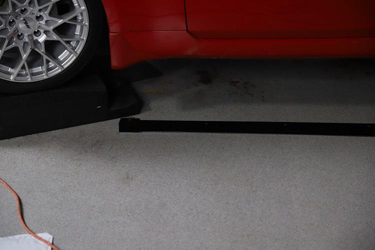 side splitter on ground min