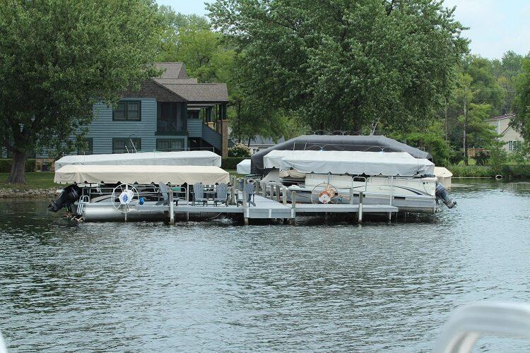 Boats Docked At Marina min